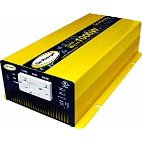 Go Power! GP-SW1000-12 1000-Watt Pure Sine Wave Inverter