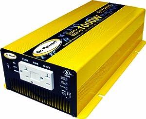 Go Power! GP-SW1000-12 1000-Watt Pure Sine Wave Inverter by Unknown