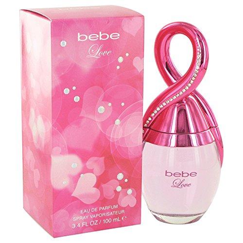 Bebe Love by Bebe Women' s Acqua di Profumo Spray 3.4oz-100% Authentic by Bebe