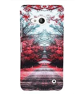 EPICCASE Romantic Path Mobile Back Case Cover For Microsoft Lumia 550 (Designer Case)