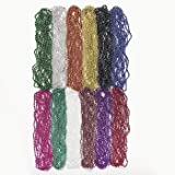 Mardi Gras Bead Necklaces Assorted Colors (144)