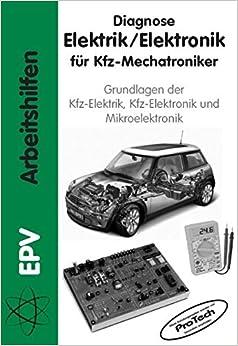 diagnose elektrik elektronik f r kfz mechatroniker. Black Bedroom Furniture Sets. Home Design Ideas