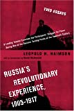 img - for Russia's Revolutionary Experience, 1905-1917: Two Essays book / textbook / text book