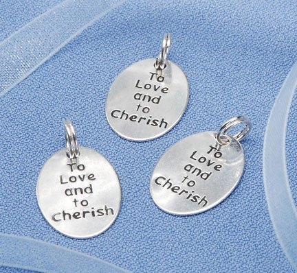 Silver Charms, to Love and Cherish, 20pc Pkg (Pack of 1)