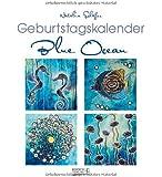 Geburtstagskalender Blue Ocean: Immerwährender Kalender
