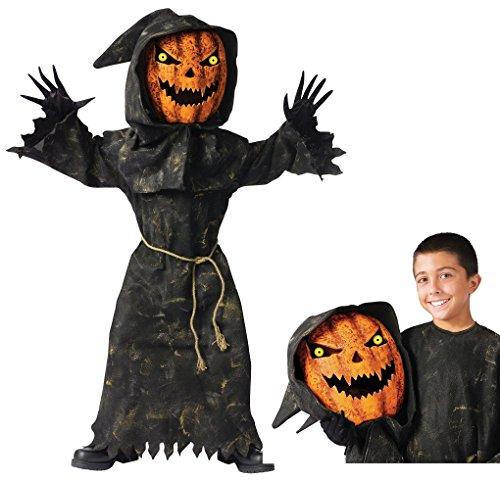 Child (Bobble Head Pumpkin Costume)