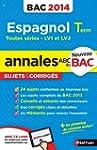 ANNALES BAC 2014 ESPAGNOL TERM