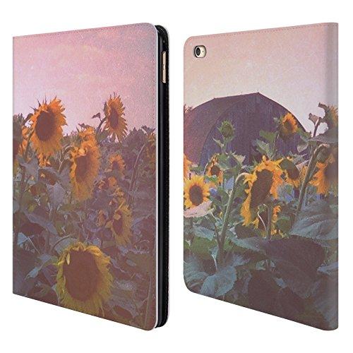 offizielle-olivia-joy-stclaire-sommer-sonnenblumen-natur-brieftasche-handyhulle-aus-leder-fur-apple-