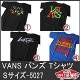 (バンズ)VANS 半袖T Sサイズ-E 5027