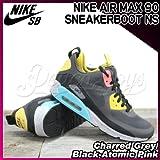 NIKE(ナイキ) エアマックス 90 スニーカーブーツ AIR MAX 90 SNEAKERBOOT NS Charred Grey/Black-Atomic Pink/メンズ(men's) 靴 スニーカー(616314-001)