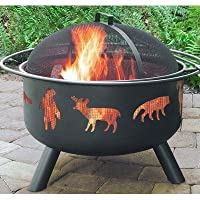 Landmann 28347 Big Sky Fire Pit, Wildlife from Landmann USA