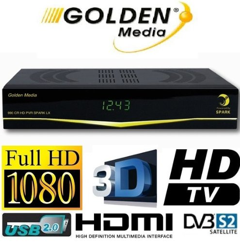Golden Media 990 CR HD USB PVR Spark Reloaded inkl. WLan Stick