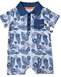 Babeez Baby Boy Polo Short T- Romper (100% Cotton) to fit height 56 - 62cms