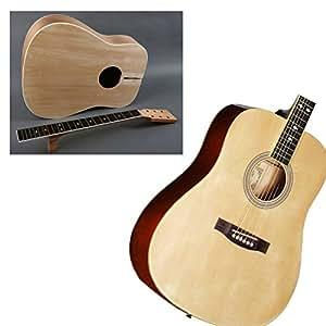 diy builder acoustic guitar kit customize and make your own musical instruments. Black Bedroom Furniture Sets. Home Design Ideas