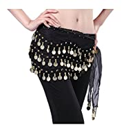 Viskey Fashion Chiffon Belly Dance Wa…