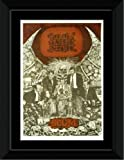 Napalm Death - Scum Framed and Mounted Print - 14.4x9.2cm