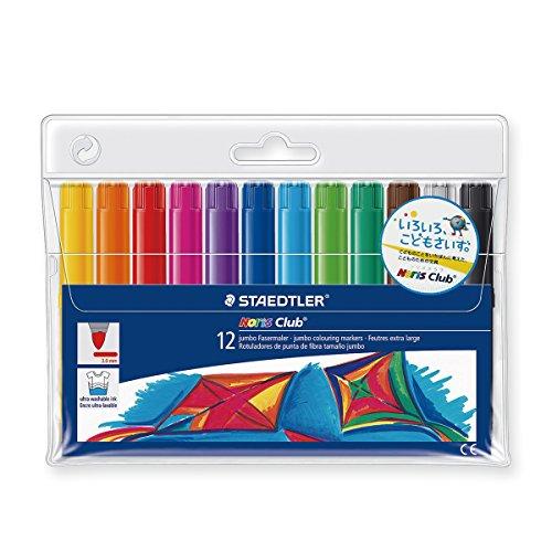 NORIS CLUB® Watercolour-Marker 340 - Estuche de 12 marcadores surtidos