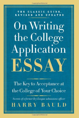 best book on writing college essays How to write a college essay no lives are riding on your college application essays a library of about five thousand books some of my best days were spent.