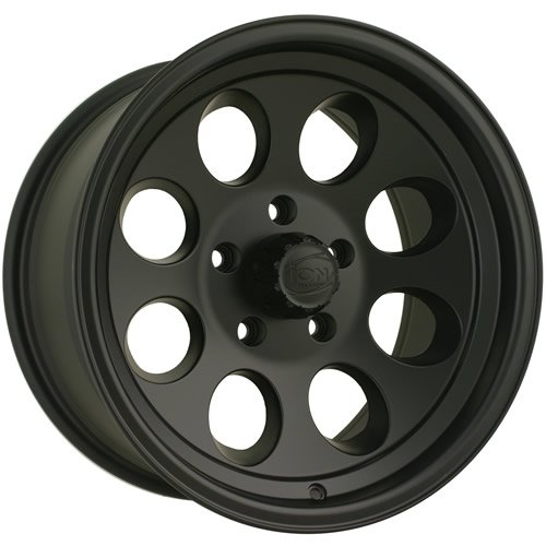 Ion Alloy Style 171 Matte Black Wheel with Machined Lip (16x8/5x114.3mm)
