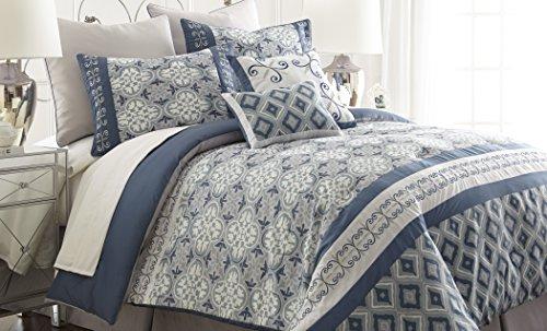 Blue Queen Comforter Sets front-695001