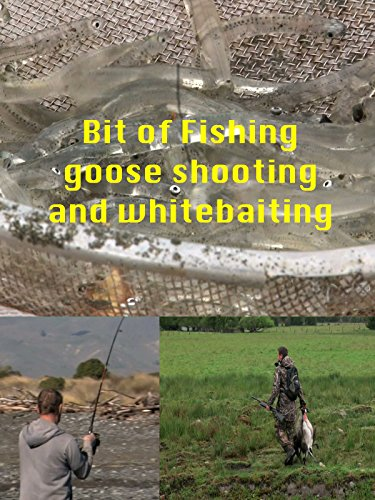 A Bit of Fishing, Goose shooting and Whitebaiting
