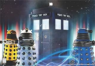 Doctor Who Wallpaper Mural - Tardis 4 (Fixed Size)