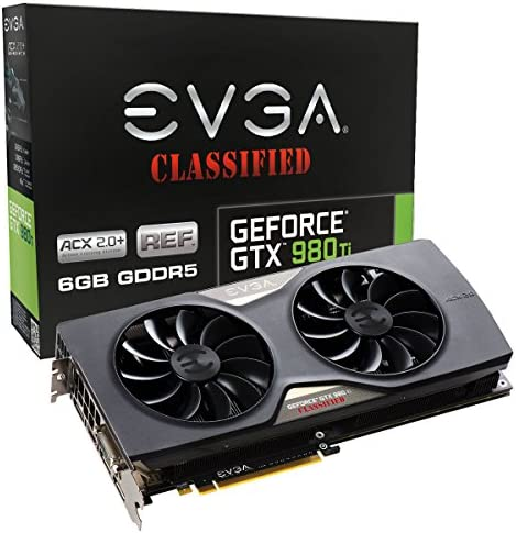 EVGA GeForce GTX 980 Ti 6GB Video Card