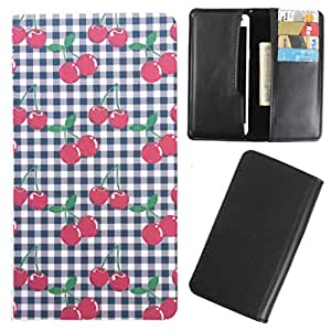 DooDa - For Intex Aqua Wonder PU Leather Designer Fashionable Fancy Case Cover Pouch With Card & Cash Slots & Smooth Inner Velvet