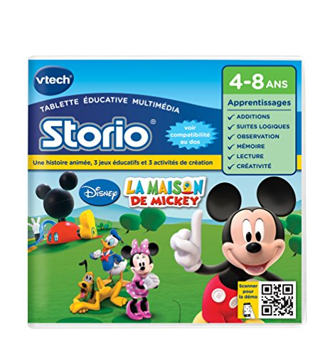 VTECH Jeu éducatif Storio 2 La Maison de Mickey