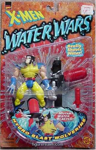 X-Men Water Wars Wolverine Action Figure - 1