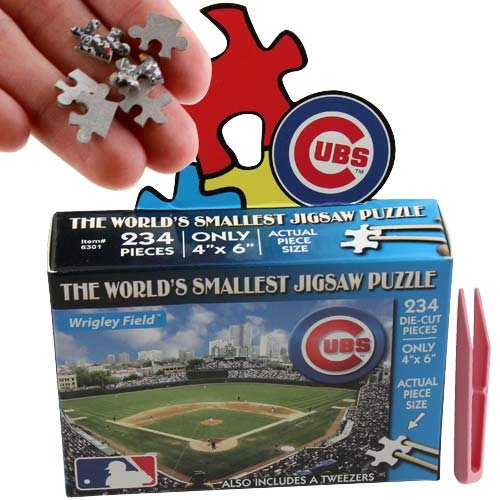 TDC Games The World's Smallest Chicago Cubs Stadium Jigsaw Puzzle - 1