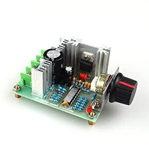 Simple Pwm Motor Control Circuit Using Ic 4011 Eleccircuit