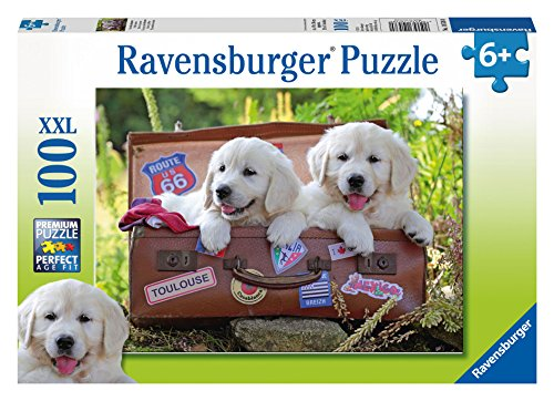 Ravensburger Traveling Pups Puzzle (100 Piece)