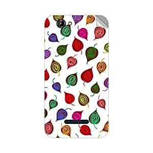 Garmor Designer Mobile Skin Sticker For Panasonic P41 - Mobile Sticker