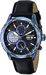 Stuhrling Original Men's 497.03 Classic Nomad Analog Display Automatic Self Wind Black Watch