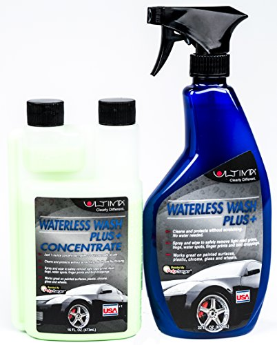 ultima-waterless-wash-plus-anti-static-dust-repelling-concentrate-kit-with-empty-bottle-and-sprayer-