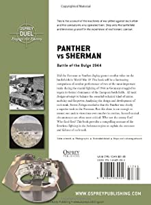 Panther vs Sherman: Battle of the Bulge 1944 (Duel) by Osprey Publishing