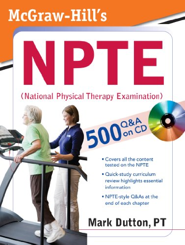 Pdf english books download McGraw-Hill's NPTE (National Physical Therapy Examination)  9780071486415