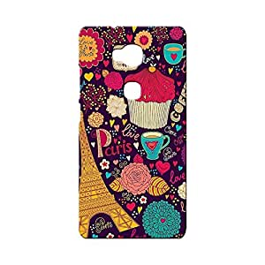 BLUEDIO Designer Printed Back case cover for Huawei Honor X - G6128