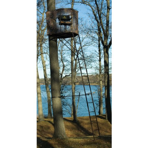 Click here to buy Rivers Edge 17' Spin Shot 1 - man Ladder Stand by River's Edge.