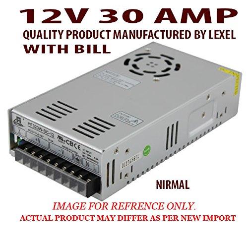 12V 30AMP 360W WATT DC SMPS POWER SUPPLY For LED Strip Light, Driver ...