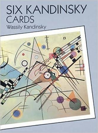 Six Kandinsky Cards (Dover Postcards) written by Wassily Kandinsky