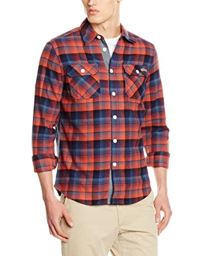 Chiemsee Camicia Casual Orwe [Rosso/Blu]