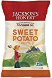 Jackson's Honest Sweet Potato Chips Made with Coconut Oil, 5 Ounce