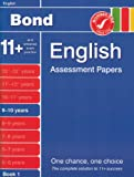 J M Bond Bond Assessment Papers in English 9-10 years New Edition