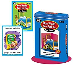 How Would You Feel If... Fun Deck Cards - Super Duper Educational Learning Toy for Kids