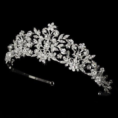 Neidy-Swarovski-Crystal-and-White-Pearl-Wedding-Bridal-Tiara-by-Fairytale-Bridal-Tiara