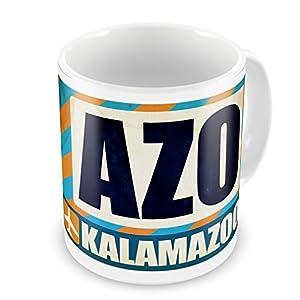 coffee mug airportcode azo kalamazoo