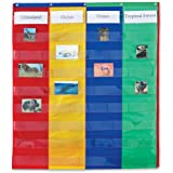 Learning Resources 2 And 4 Column Double-sided Pocket Chart