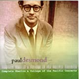 echange, troc Paul Desmond - Complete Oberlin & College of the Pacific Concerts